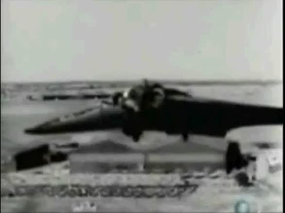 视频:二战德军飞翼战斗机HO-229罕见试飞影像