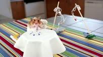 鼠宝宝的袖珍大餐