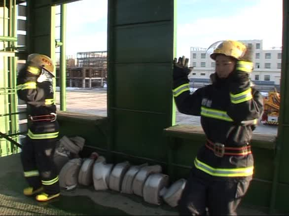 都兰消防:高原消防小苹果
