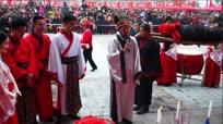 实拍湖北宜昌乡村年猪祭祀
