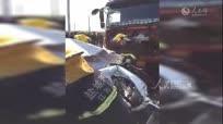 盐城货车闯红灯连撞三车致1死2伤