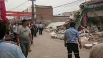 河北邢台一家电器小商场坍塌5人被埋3人已获救