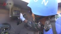中国赴黎巴嫩维和部队展开紧急疏散救援演练
