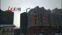 哈尔滨城市上空惊现日晕奇观