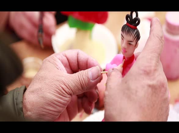实拍中国民间艺人——纸马匠