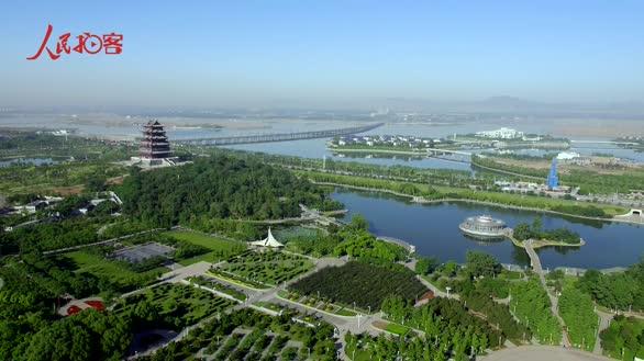 【晒·身边的变化】壮美!家乡县城昔日钢城变水城
