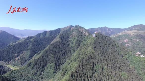 【人民拍客大V行 看兰州】航拍吐鲁沟兴隆山 邂逅青山绿水天然氧吧