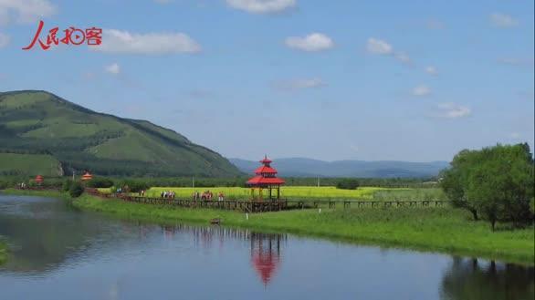 【大美中国 看壮丽河山】绿水青山小镇美