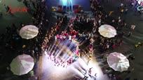 西安快闪!!! 王建房程渤智范炜串烧《我爱你中国》百名群众组成69为国庆生!