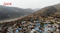 天水乡下 渭水河畔 火车从村边通过 裴家峡大美风光
