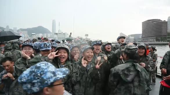 歌唱祖国响彻维港