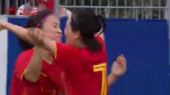 【微观军运】中国八一女足碾压全场 全胜晋级闯入半决赛