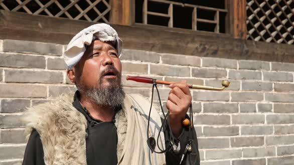 陕北老汉唱民歌