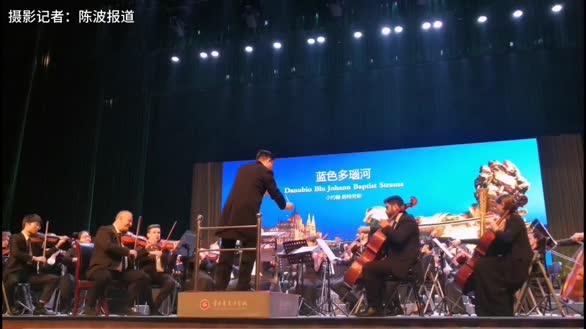 """意大利百合交响乐团,在宜昌上演""""2020新年快乐"""""""