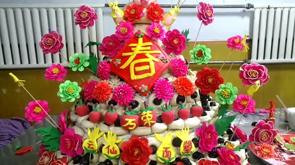 山西万荣:面塑迎新春 非遗展国粹