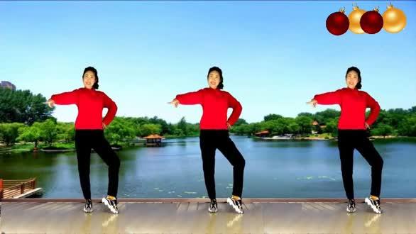为武汉加油,客厅广场舞《抗击新型冠状病毒肺炎的歌》
