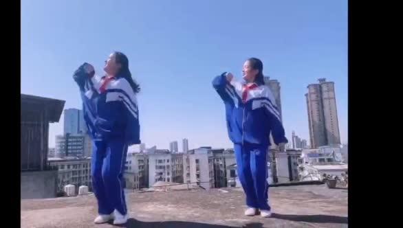 岳塘区湘钢二中防疫宣传片12——阳光少年舞出心中最美乐园