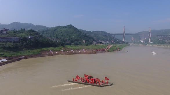 中国安能防汛神器亮相2020年重庆市洪涝灾害综合应急演练
