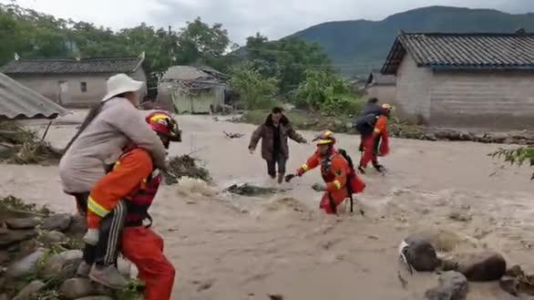 四川冕宁发生特大暴雨灾害 已造成3人死亡12人失联