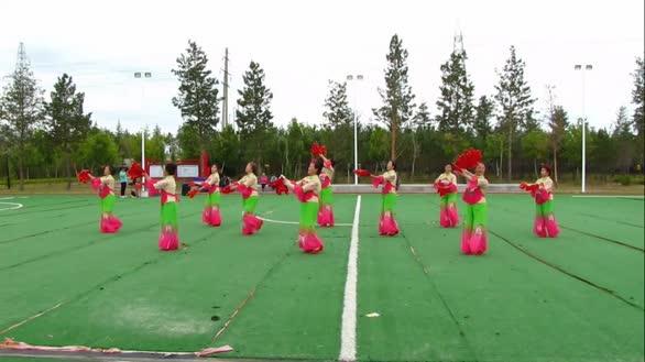 《红歌颂党》牙克石市鸿雁舞蹈团演出