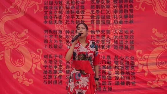武汉女歌手现场演唱《珊瑚颂》唯美的歌声,好听至极