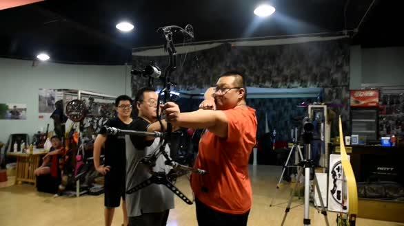 复合弓开弓训练