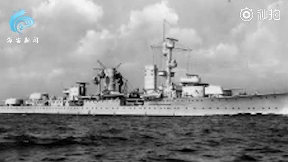 """沉睡海底80年!二战德军舰""""卡尔斯鲁厄""""号被发现"""