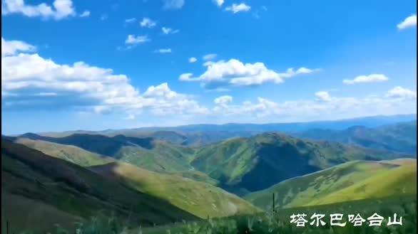 大美边关:新疆塔城塔尔巴哈台山