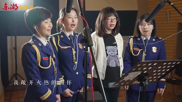 """""""女神节""""MV:首都消防版《春暖花开》"""