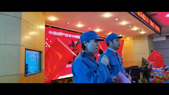 红色V电影《英雄母亲黄菊妈》开机仪式系列报道(3)
