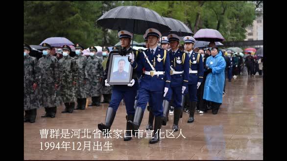 河北宣化:消防烈士魂归故里