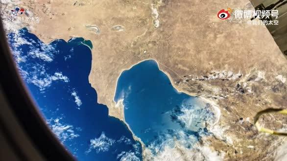 坐地日行八万里,巡天遥看一千河 航天员在太空拍摄的地球有多美